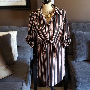 Dresses - Striped Dress